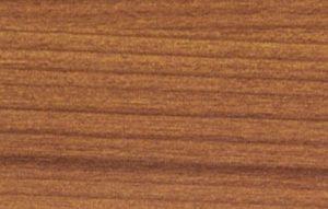 Decor wood aluminium sample