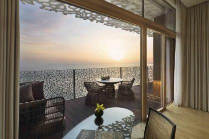 Bvlgari Hotel & Resort, Skyline Minimal Frames detail