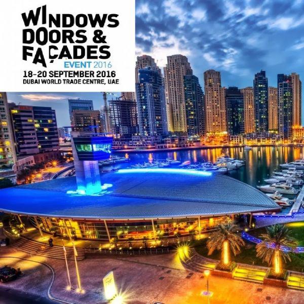 Windows Doors and Facades Dubai 2016, main image