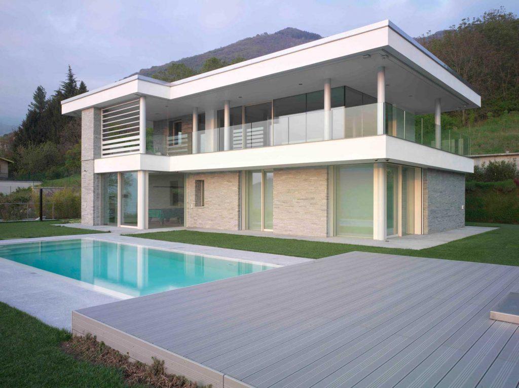 Villa Brescia, main elevation