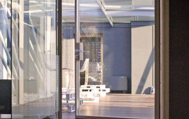 Skyline Pivot, vista interna del bilico