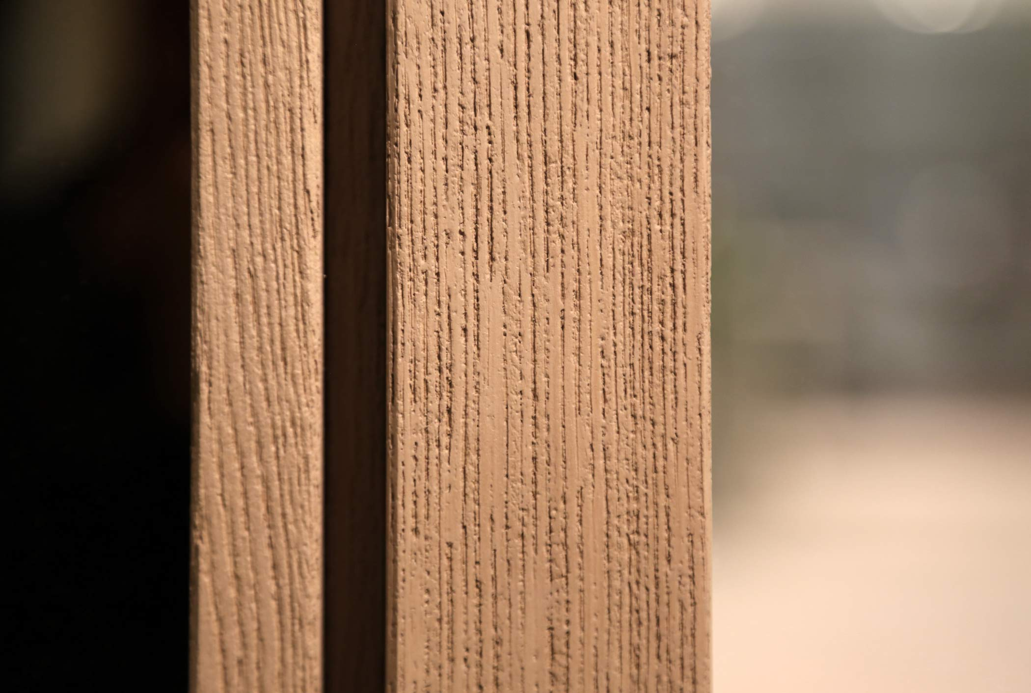 Wood natural finish