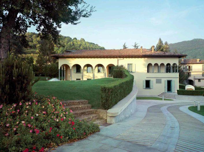 View of Villa Bergamo
