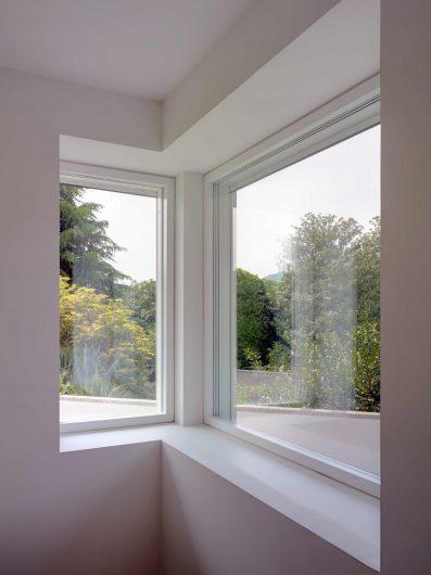 Interior view of two Skyline windows