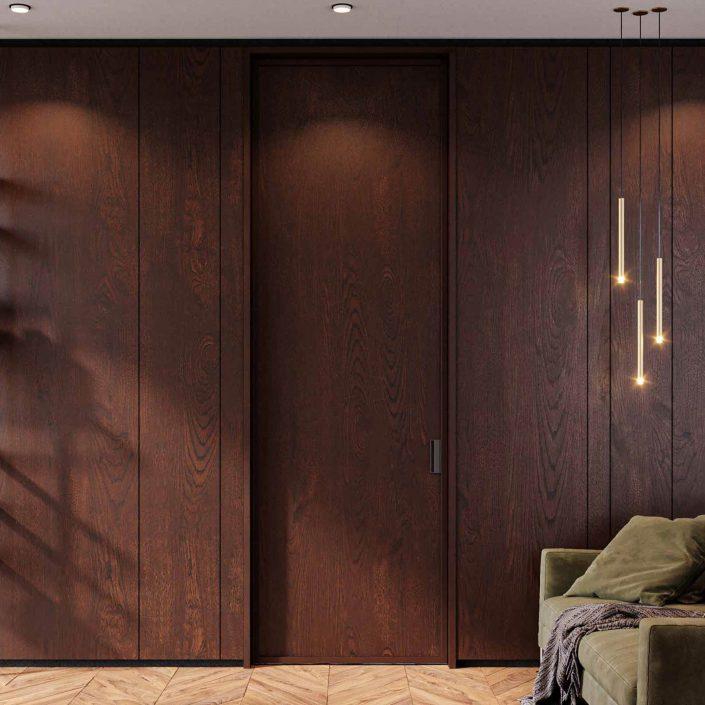 Wooden door Carminati cover image